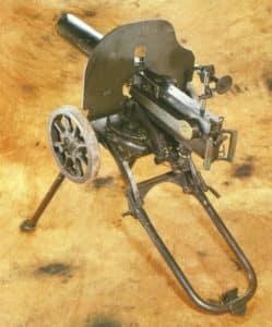 Maxim machine-gun