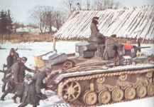 Panzer regiments in front of Moscow