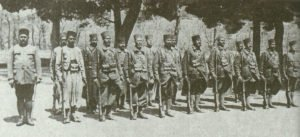 French colonial Zouaves troops