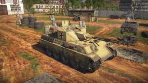 Anti-aircraft tank Coelian