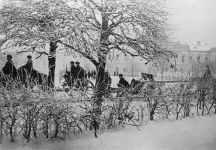 Russian artillery enters the re-captured Klin
