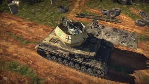 AA-tank Wirbelwind