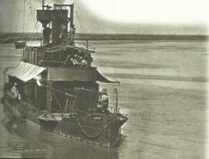 British gunboat on the Tigris