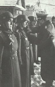 Members of the Spanish 'Blue Division'
