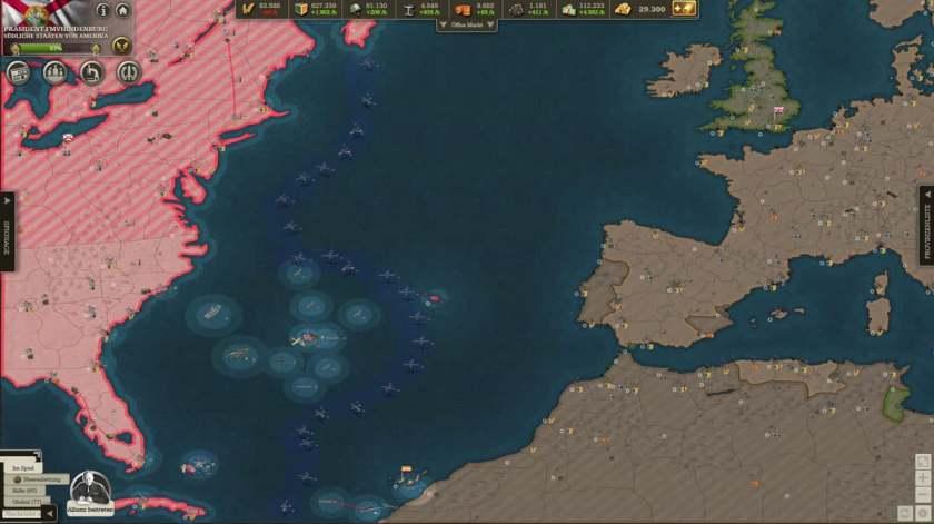 Atlantic  reconnaissance and defense line
