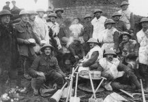 BEF labour battalion working party