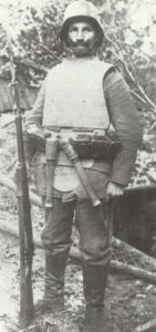 trench body armour.