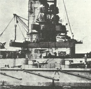 Command tower of a Kaiser class battleship