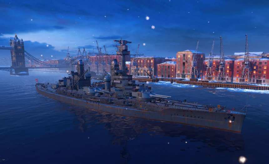 battleship 'Kaiser' in WoW