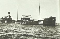 US merchant ship 'Illlinois'