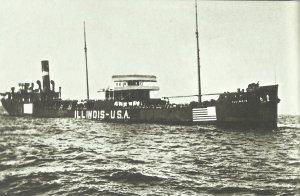 US merchant ship 'Illlinois'