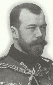 Russia's Czar Nicholaos II