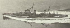 light cruiser of the Dido class
