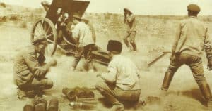 ussian army 107-mm Field Gun Model 1910
