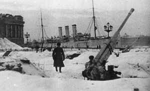 cruiser Aurora winter 1941-42