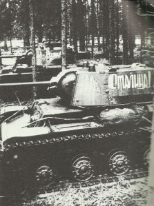KV-1A in the area of Kharkov