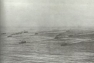 convoy of merchant ships