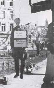 Hanged German Major