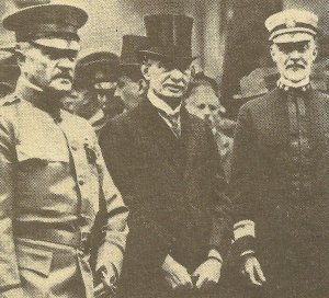 General Pershing and Admiral Sims