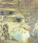 Italian trench on the Carso