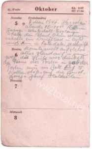 Diary as PoW in Warsaw