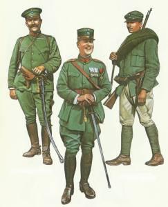 Uniforms Greek Army World War One