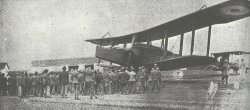 Handley Page 100 biplane