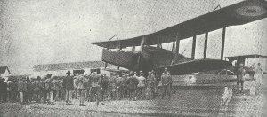 Handley Page 100 biplane