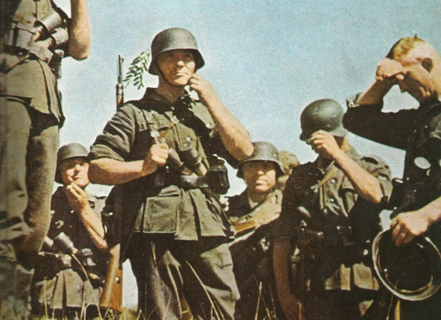group of German infantrymen