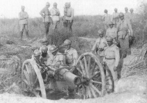 Rumanian gunners