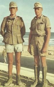members of the Afrika Korps