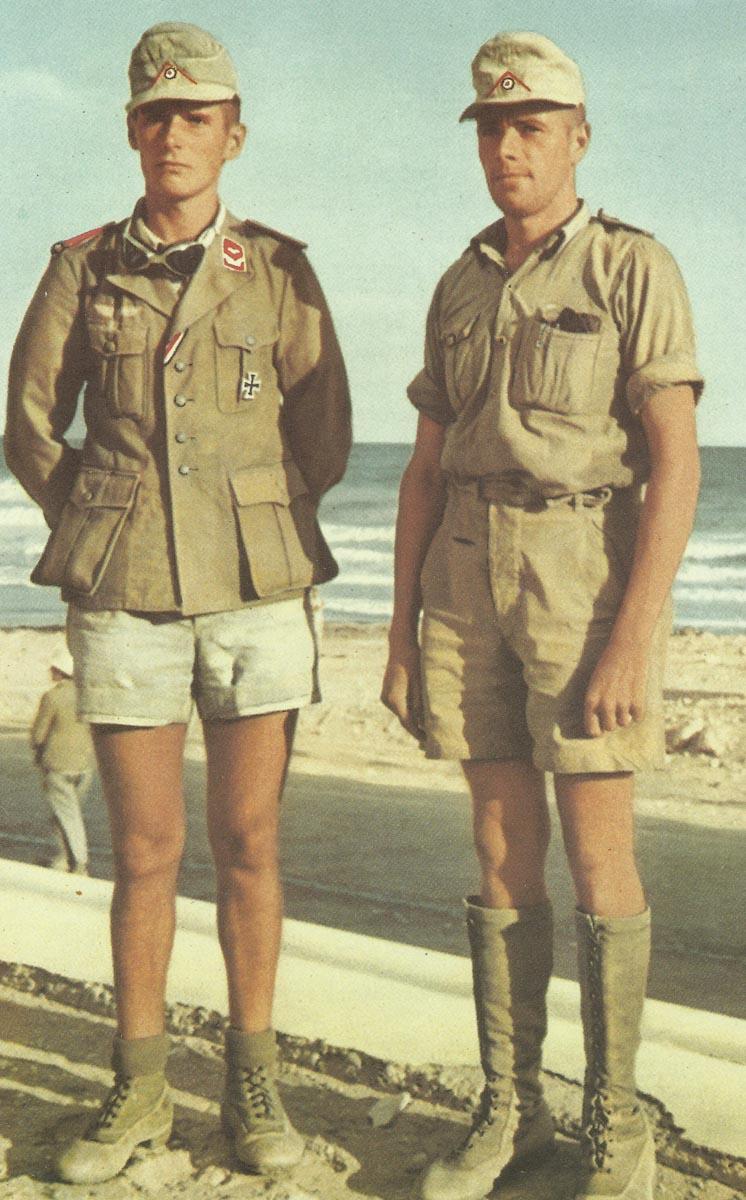 4de4817ed2e members of the Afrika Korps. Two members of the Afrika Korps. Thus the German  soldiers ...