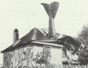 shot down German fighter