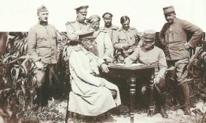 Interrogation of Russian officers