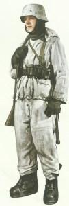 German winter combat uniform