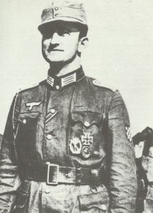 Captain of the German Army's Croat Legion