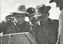 General Montgomery at Alamein