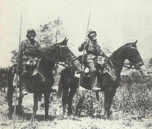 advanced German patrol
