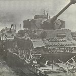 Panzer IV on the way to the Eastern Front