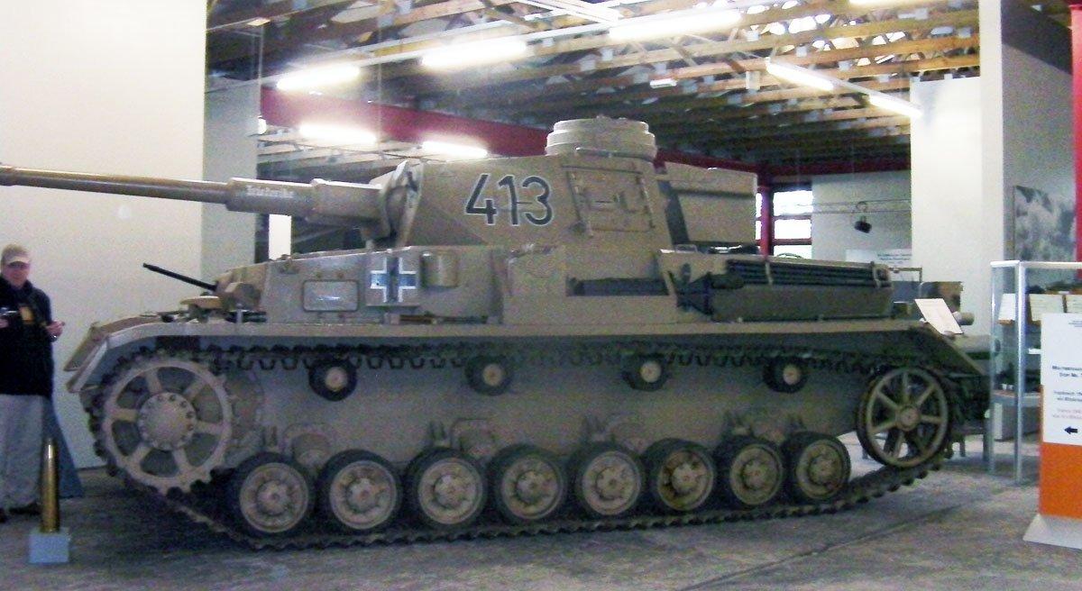 Panzerkampfwagen IV Ausf E without additional frontal