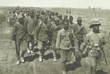 Turk PoWs captured at the Battle of Ramadi