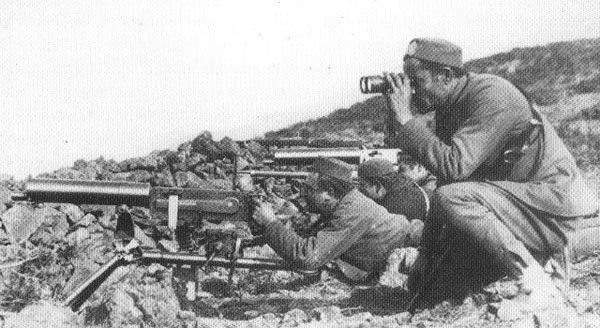 Machine Gun Company of the Montenegrin Army