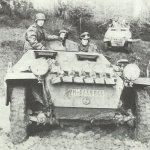 German motorized column