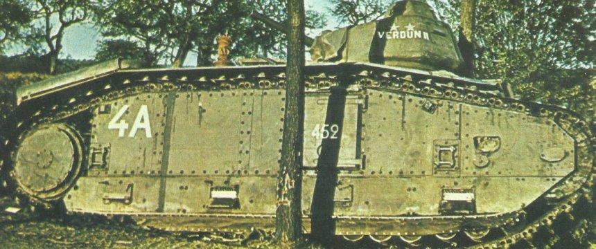 heavy tank Char B1