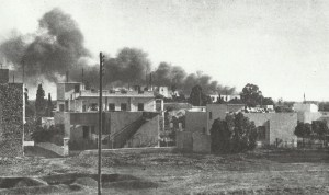 air raid on the airfield of Tunis