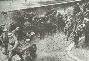 German soldiers before the counterattack at Cambrai