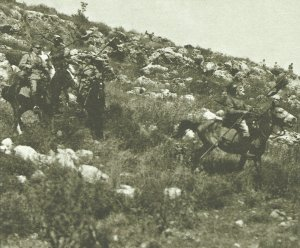 German lancers in Palestine