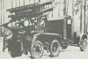 BM-8-48 launcher on ZIS