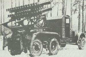 BM-8-48 launcher on ZIS