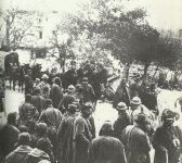 Retreat of Italian troops after the Battle of Caporetto